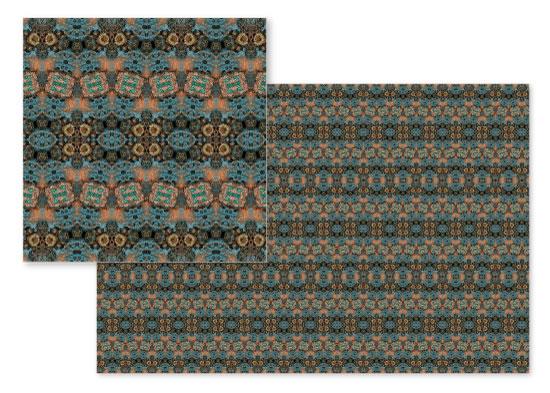 fabric - Copper Glow by OlafOriginals