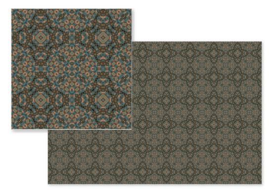 fabric - Copper Pom by OlafOriginals
