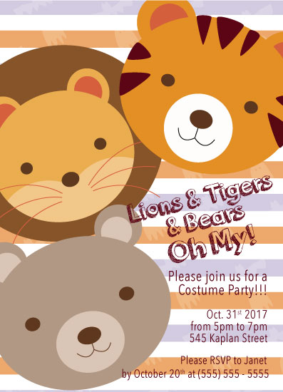 party invitations kids halloween invite at minted com