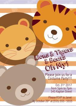Kids Halloween Invite