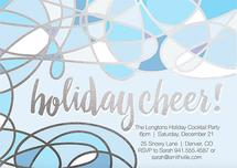 blue holiday cheer by chrissy kelly