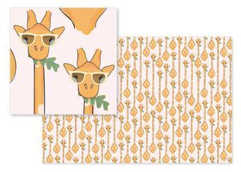 Urban Jungle Giraffes