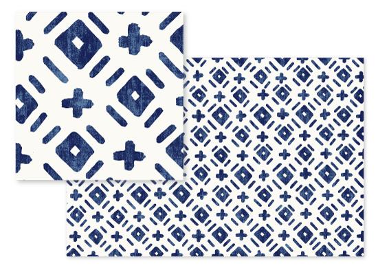 fabric - Handdrawn Plus by Hooray Creative