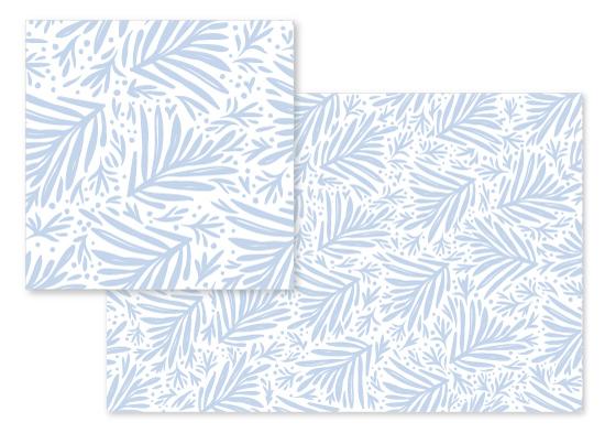 fabric - palm pattern by Julie Murray