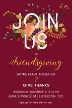 Friendsgiving by Jessica Sonnenberg