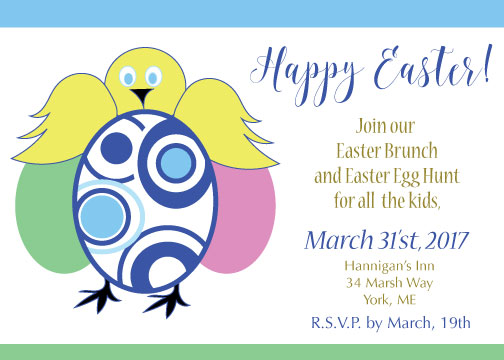 party invitations - Easter Brunch Invite by Kristen Niedzielski