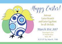 Easter Brunch Invite by Kristen Niedzielski