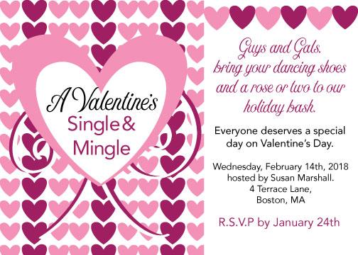 party invitations - Valentine's for Everyone by Kristen Niedzielski