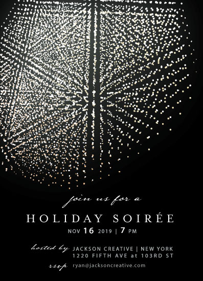 party invitations - Holiday Soirée by Zhay Smith