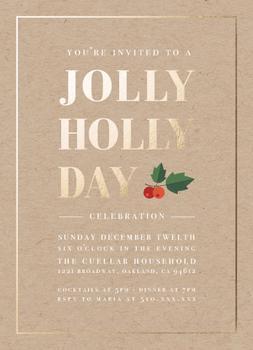 Jolly Holly Celebration