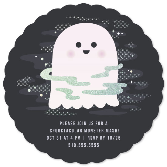 party invitations - Spooktacular! by elena diaz