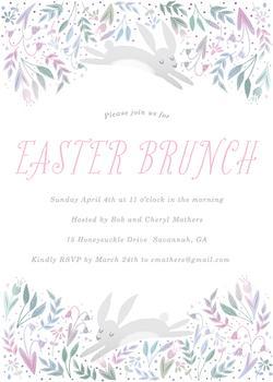 Bunny Easter Brunch