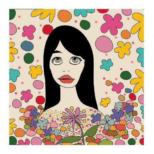 - Spring girl by Pascale cerdan