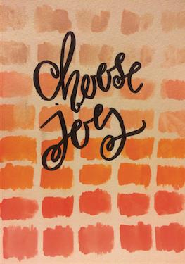 - Choose Joy Notebook by Kendra Stanton Lee