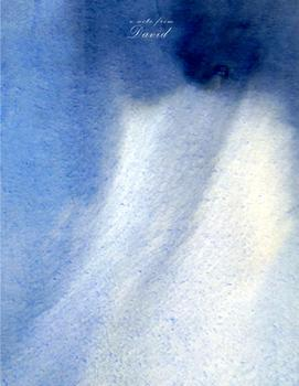 watercolor blue impression