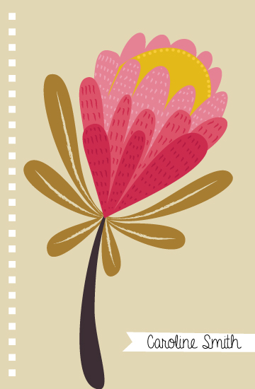 - Protea Notebook by Emma Whitelaw