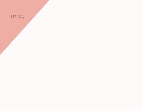 - Pretty pink Minimalist by Anna Hirsch