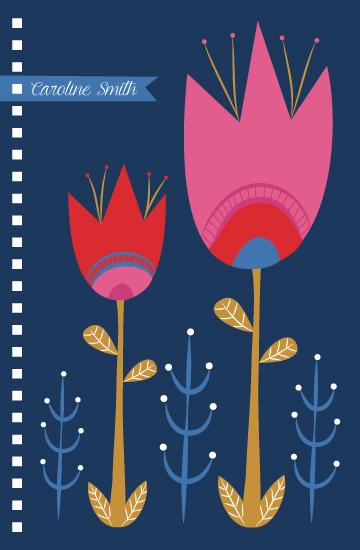 - Blue Tulips by Emma Whitelaw