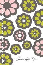 Bold Floral Notes by Jennifer Jackson Lee