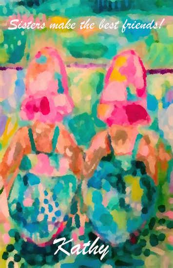- Beach baby besties!! by Laura van Swol