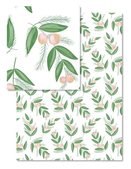 - Feminine Foliage by Juliana Nahas