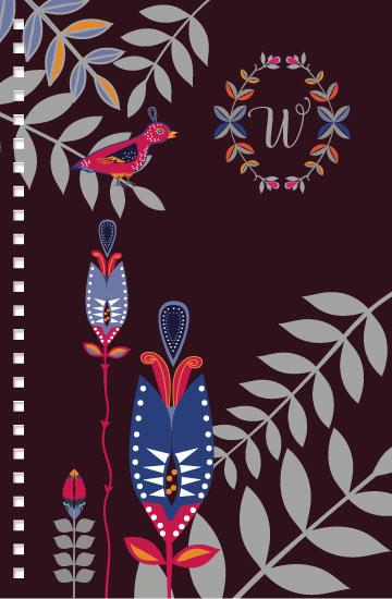 - Floral BOHO Bird by Tresa Meyer-Clark