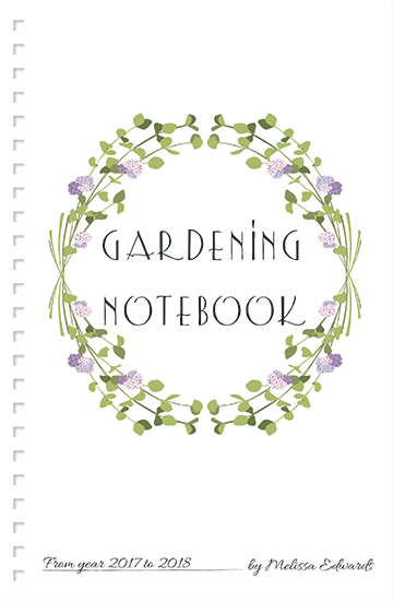 - gardening wreath notes by ALIX SORDET