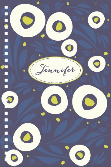 - Midnight Moonlight Bloom Floral by Jennifer Jackson Lee