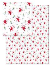 Dancing Santas by Orange Poppy Designs