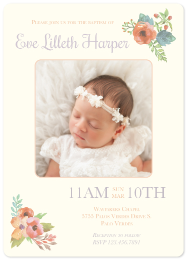 invitations - Flower Child by Designs by Aili
