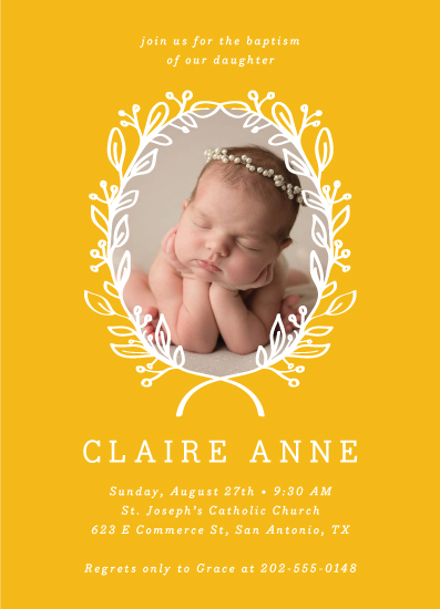 invitations - Golden by Anne Designs