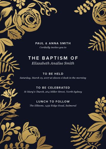 invitations - Golden New Day by Devon Swing