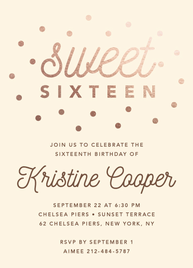 invitations - Choco by Anne Designs
