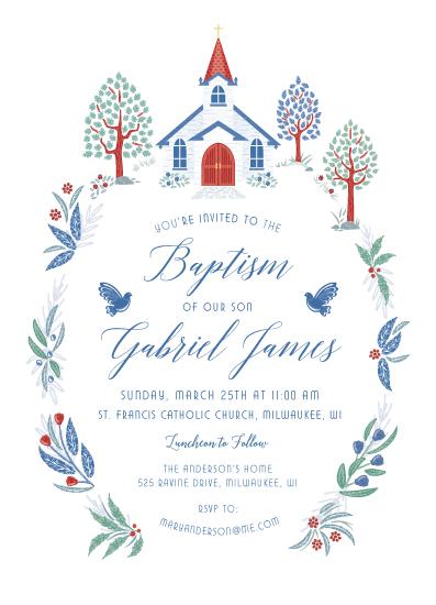 invitations - Charming Chapel Surround by Paper Sun Studio