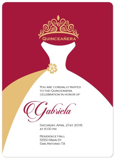 invitations - Enchanted Quinceañera by Cecilia McMahon