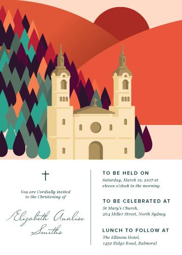 invitations - Crimson Day by Devon Swing