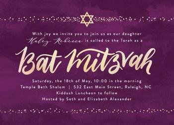 Sparkling Mitzvah