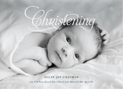 invitations - Happy Christening by Jair Bontilao