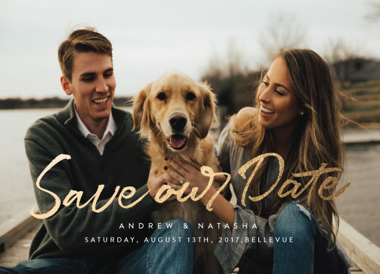 save the date cards - Stylish Save The Date by Nicola