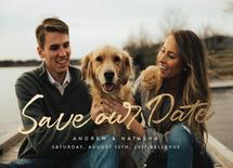 Stylish Save The Date by Nicola