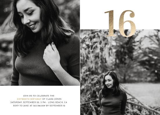 invitations - Sweet Big 16 by Nicoleta Maria Coca