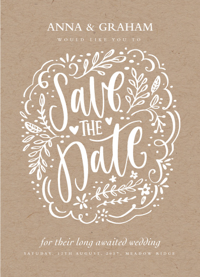 save the date cards - Pretty Chic Save The Date by Nicola