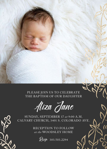 invitations - Little Liza by Strong Willow Studio
