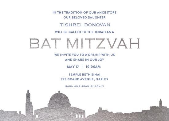 invitations - Cityscape Jerusalem by Debb W