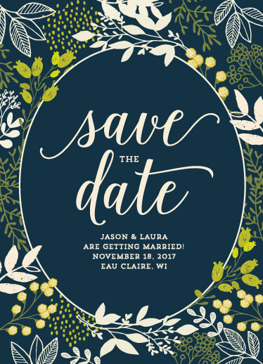 save the date cards - In the Wild by Jodi Stevens