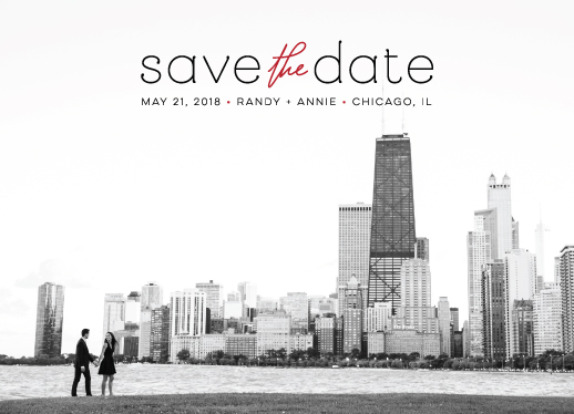 save the date cards - everlasting by Danly