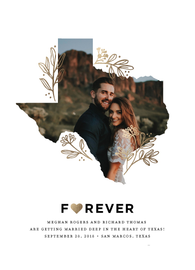 save the date cards - Forever by Jessica Corliss