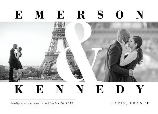 save the date cards - Timeless by Playground Prints