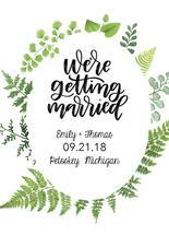 We're Getting Married G... by Jordyn Alison Designs