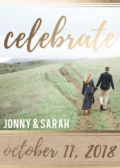 save the date cards - Celebrate by Sarah Leigh